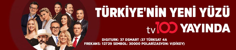 Türkiye'nin yeni yüzü tv100 yayında