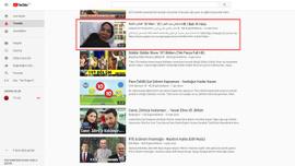 Youtube'da Arap trendi