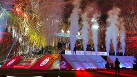 Galatasaray 22'nci şampiyonluğunu kutladı