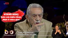 Aydemir Akbaş'tan Müjde Ar'a övgü