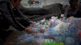 Plastik soluyoruz!