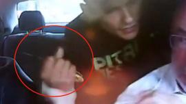 Genç çift, taksiciyi böyle soydu