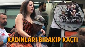 İstiklal'de motosiklet dehşeti!
