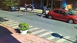Sokak ortasında pompalı saldırı