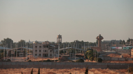 Tel Abyad'da bu sabah...