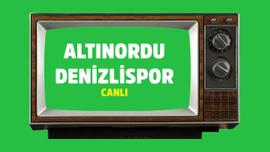 Altınordu - Denizlispor CANLI