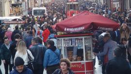 İstanbul'da kış ortasında bahar havası