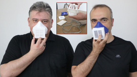 İki Türk doktor üretti!.. Bu maske elektronik!