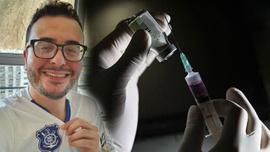 Aşı deneylerine katılmıştı ve..!