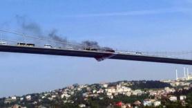 Köprüde korkulu dakikalar!