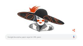 Google bugün Semiha Berksoy'la açıldı