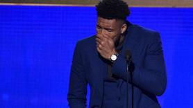 NBA yıldızı Antetokounmpo'nun gözyaşları