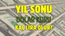 Yıl sonu dolar kuru kaç lira olur?