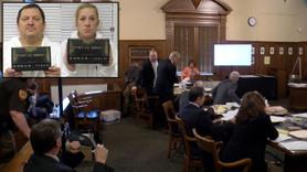 Tinder katili mahkemede boğazını kesti