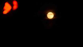 Ay'ın muhteşem görüntüsü
