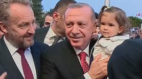 Erdoğan'a 15 Temmuz buluşmasında torun sürprizi