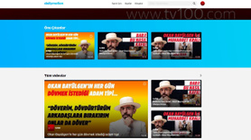 tv100 şimdi de DailyMotion'da