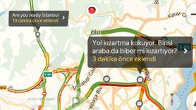 Yandex Navigasyon'a bırakılmış en komik mesajlar