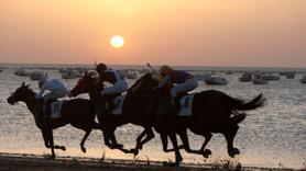 Plajda at yarışı... 1845'ten beri