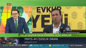 Y. Malatyaspor Başkanı Adil Gevrek tv100'e konuştu