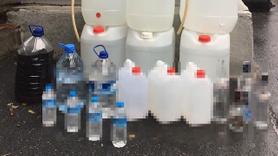 Fatih'te 207 litre sahte alkol yakalandı!