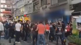 Kadıköy'de izinsiz kayyum protestosu