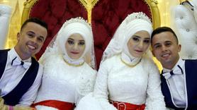 İkizler, ikizlerle evlendi!