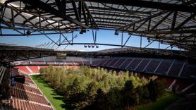 Stadın içini ormana dönüştürdüler!