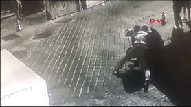 Kick boksçunun işlediği cinayetin görüntüleri