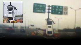 Çin'de akılalmaz kaza!