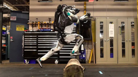 İşte jimnastikçi robot!
