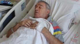 Usta oyuncu hastaneye kaldırıldı!