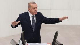 Erdoğan'dan Meclis'te 'terör' vurgusu