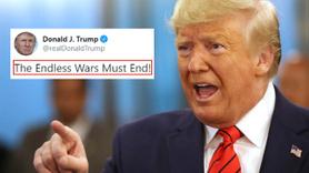 Trump: Sonu olmayan savaşlar sona ermeli