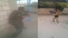 Suriye'deki gümrük binası böyle vuruldu!