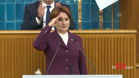 Meral Akşener'den Meclis'te asker selamı