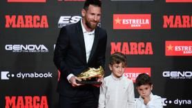 Altın Ayakkabı 6. kez Lionel Messi'nin
