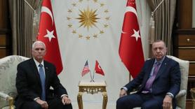 Erdoğan - Pence görüşmesi başladı