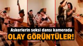 Askerlerin dansı sosyal medyayı salladı