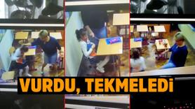Engelli çocuklara öğretmen şiddeti kamerada