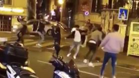 Beyoğlu'nda kemerli kavga!