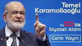 CANLI Temel Karamollaoğlu tv100'de