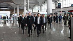 İmamoğlu'ndan İstanbul Havalimanı'na ziyaret