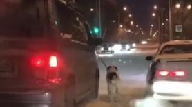Komşusuna kızdı! Acısını köpeğinden çıkardı!