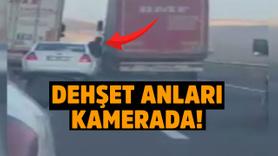 Tır şoförüne silahlı saldırı