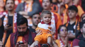 Galatasaray'ın şampiyonluk kutlamasından kareler