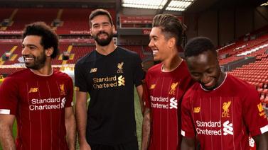 Liverpool'un yeni sezon forması