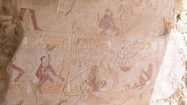Mısır'da 3 bin 500 yıllık mezar keşfedildi