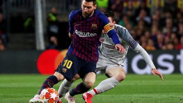 Messi Liverpool'a gün yüzü göstermedi