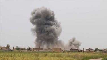 İdlib'de gözlem noktasına havan isabet etti
